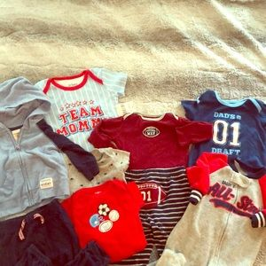 EUC 3-6 Month Baby Boy Sports bundle